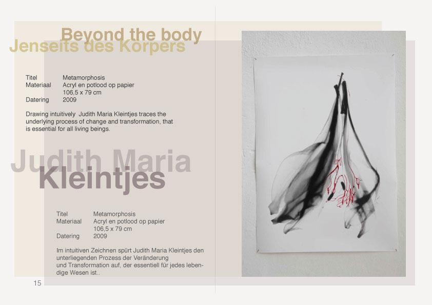 Beyond the Body Judith Maria Kleintjes