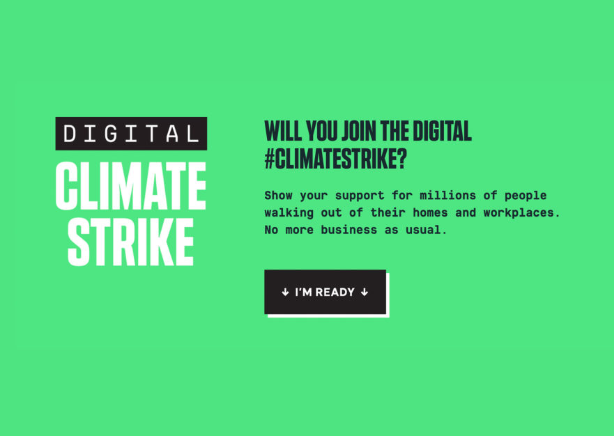 Digital Climate Strike