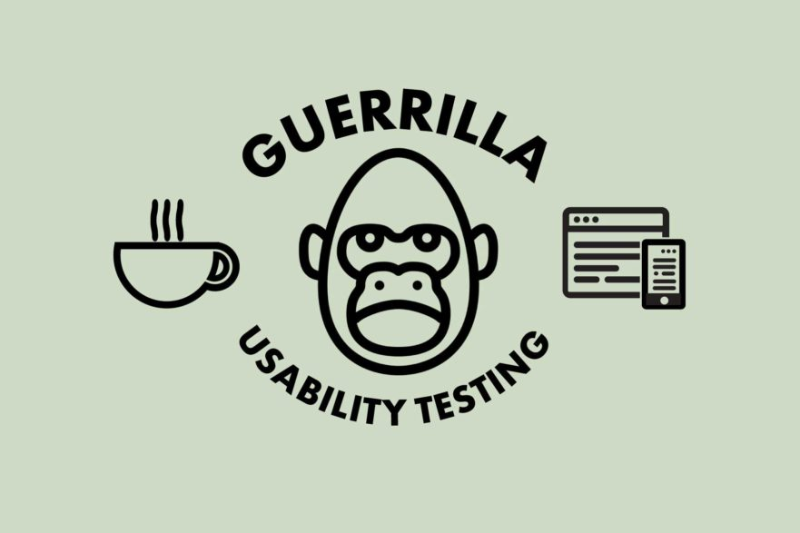 Guerrilla Usability Testing | Brigit Varenkamp