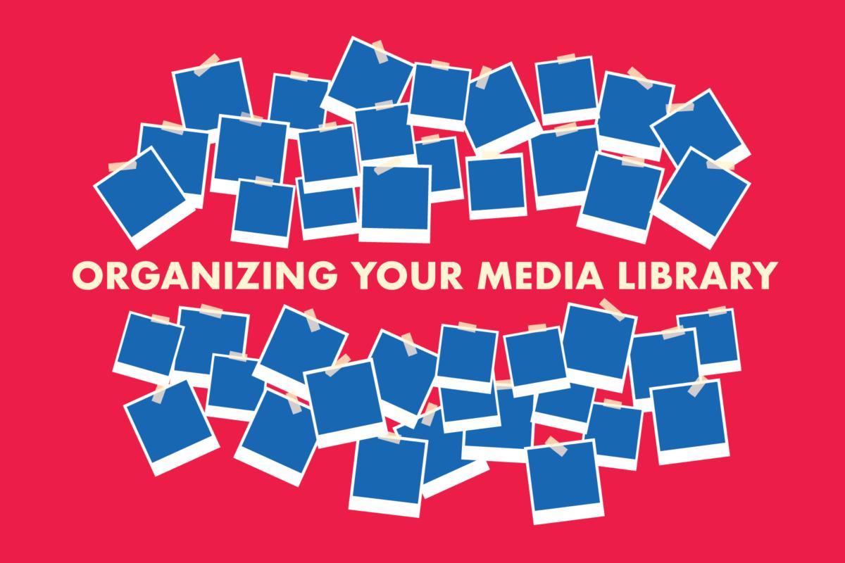 WordPress media library organiseren