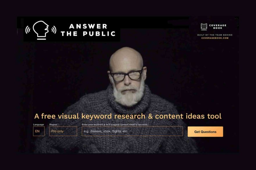 Answer the Public, a free visual keyword research & content ideas tool | Brigit Varenkamp