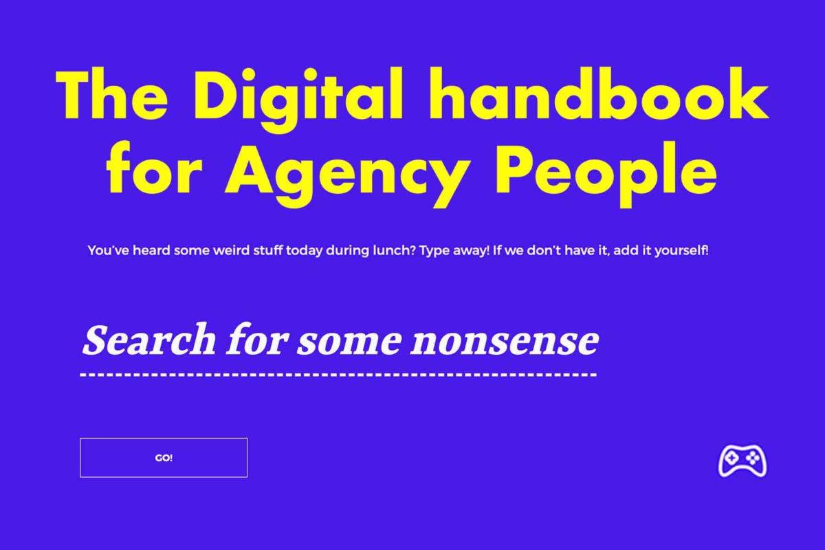 Digital Agency Nonsense