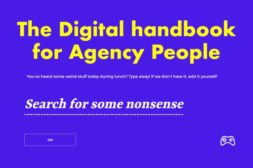 Digital Agency Nonsense