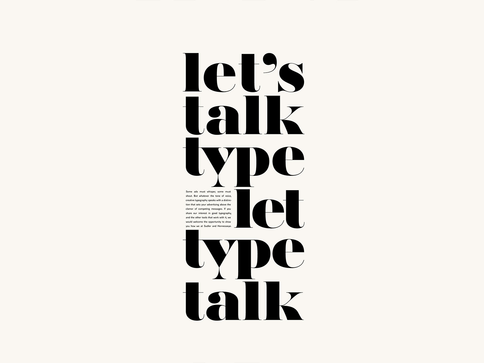 """Featured image for """"Let's Talk Type"""""""