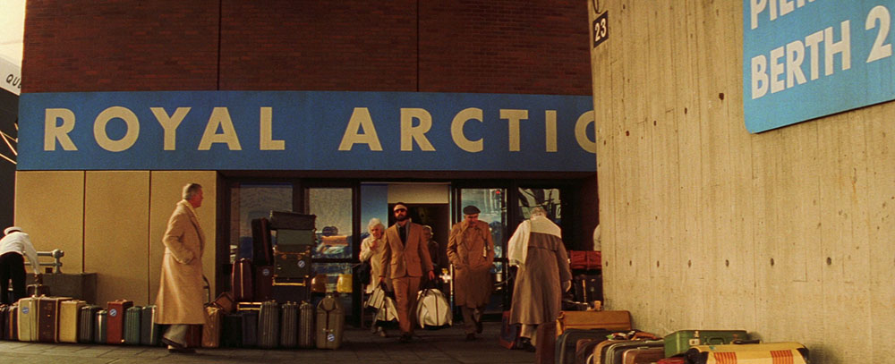 Futura Font used in a Wes Anderson Film